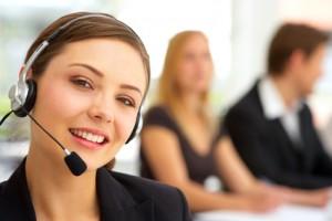 Telefonistas para asistencia