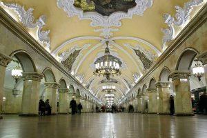 Metro de Moscú. Rusia