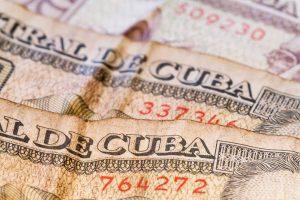Billetes de moneda cubana