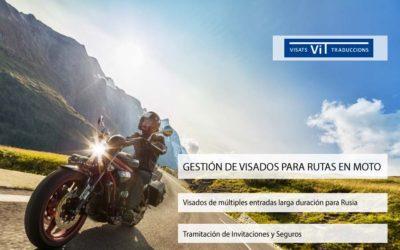 Visados para Rutas en Moto